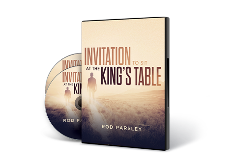 Invitation to Sit at the Kings Table Teaching Series