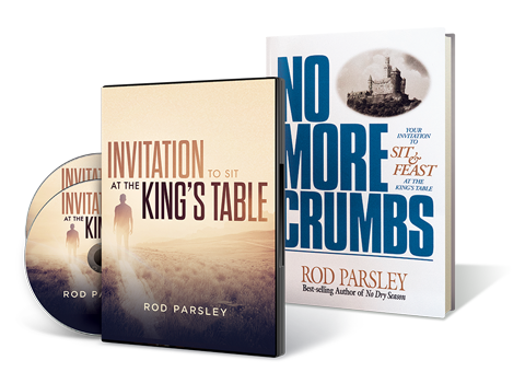 Invitation to the Kings Table Message and + No More Crumbs book