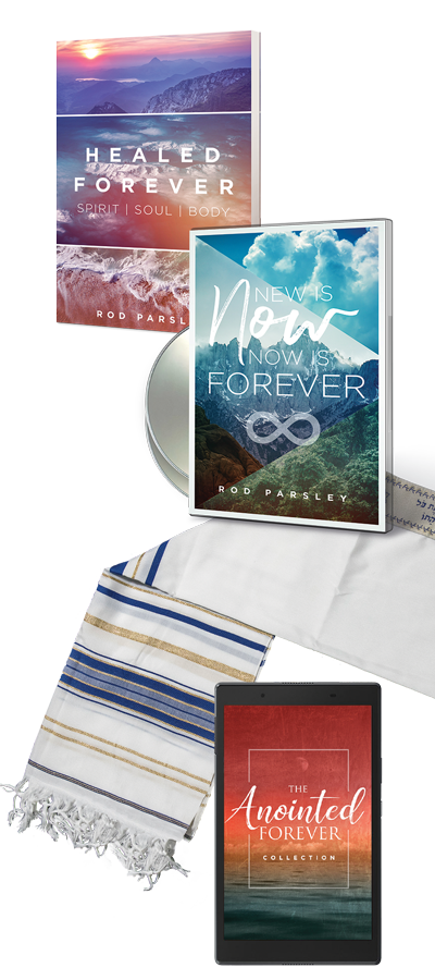 HEALER FOREVER | SPIRIT - SOUL - BODY | NEW IS NOW - NOW IS FOREVER | THE ANNOINTED FOREVER COLLECTION