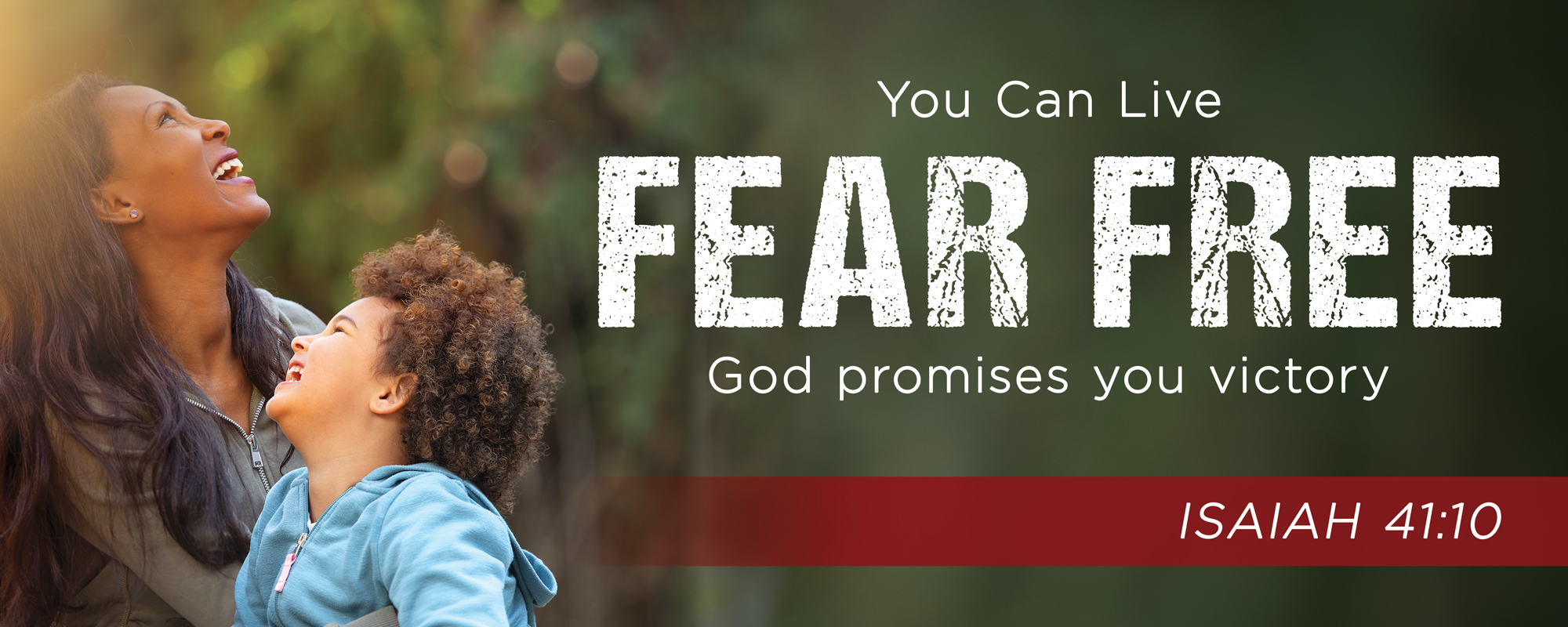 You Can Live Fear Free God Promises you Victory Isaiah 41:10