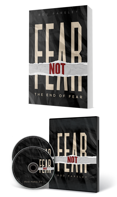 Fear Not products - Book and Discs