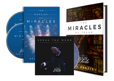 Working of Miracles - 2 Disc Set, Working of Miracles Book and Speak the Word on CD