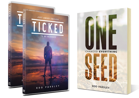 One Seed Changed Everything, Ticked: Just Angry Enough to be Blessed on CD, DVD and digital download