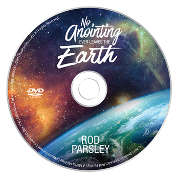 DVD | No Anoitning Ever Leaves the Earth | Rod Parsley